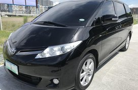 Black 2010 Toyota Previa Automatic Gasoline at 78000 km for sale