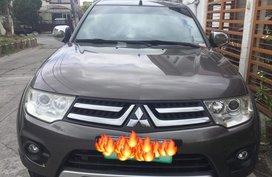 Brown 2014 Mitsubishi Montero Sport for sale in Metro Manila