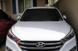 White 2016 Hyundai Tucson for sale in Metro Manila