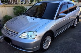 2nd Hand Honda Civic 2001 Manual Gasoline for sale in Quezon City