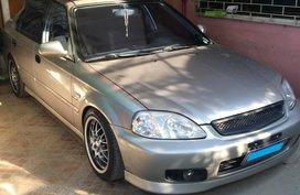 Silver Honda Civic 2001 Manual for sale