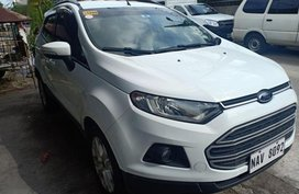 Selling 2nd Hand Ford Ecosport 2017 Automatic Gasoline at 5500 km in Quezon City
