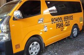 Sell Used 2016 Toyota Hiace Van in Pampanga