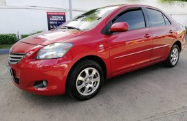 Red 2012 Toyota Vios at 53000 km for sale