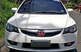 Sell White 2009 Honda Civic at 84000 km in Metro Manila