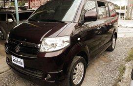 2016 Suzuki APV Van at 57000 km for sale in Davao City