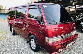 Sell Red 2011 Nissan Urvan Manual Diesel in Metro Manila
