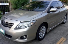 2nd Hand Toyota Corolla Altis 2008 at 110000 km for sale in Taytay