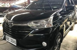 Black Toyota Avanza 2018 Automatic Gasoline for sale in Quezon City