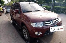 2nd Hand Mitsubishi Montero 2014 Manual Diesel for sale in Cebu City