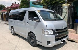 Selling Toyota Hiace 2015 Manual Diesel in Angeles