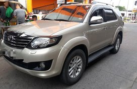 2nd Hand Toyota Fortuner 2012 Automatic Diesel for sale in Davao City