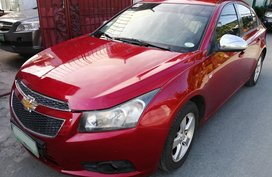 Selling Red Chevrolet Cruze 2012 Automatic