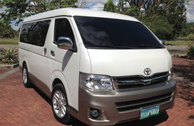 Toyota Hiace Van 2013 Manual for sale in Lucena City