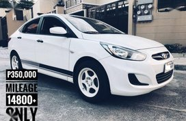 Sell 2nd Hand 2014 Hyundai Accent Manual Gasoline at 14800 km in Pasig