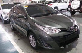 Sell Green 2019 Toyota Vios Automatic Gasoline at 2535 km