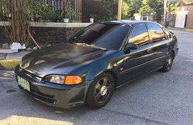 Selling Honda Civic 1995 Manual Gasoline in Mandaluyong