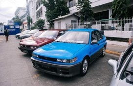 2nd Hand Mitsubishi Lancer Manual Gasoline for sale in Angeles