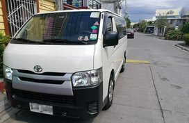 Selling Toyota Hiace 2015 Manual Diesel in Biñan