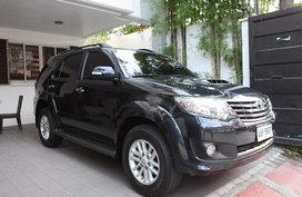 Sell 2nd Hand 2014 Toyota Fortuner at 40000 km in Quezon City