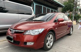 Sell 2nd Hand 2008 Honda Civic Automatic Gasoline at 59000 km in Manila