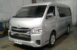2nd Hand Toyota Hiace 2016 Manual Diesel for sale in Manila