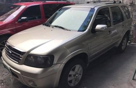 Selling Ford Escape 2008 Automatic Gasoline in Makati