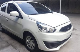 2nd Hand Mitsubishi Mirage 2017 Automatic Gasoline for sale in Las Piñas