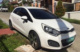 Selling Kia Rio 2013 Hatchback Automatic Gasoline in Davao City