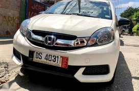 Sell 2nd Hand 2016 Honda Mobilio Manual Gasoline at 17000 km in Manila