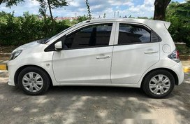 White Honda Brio 2015 Automatic Gasoline for sale