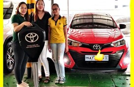 Selling Toyota Vios 2019 Manual Gasoline in Pasig