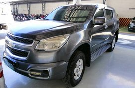 Selling Grey Chevrolet Trailblazer 2013 at 37000 km in San Francisco