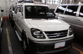 Selling Mitsubishi Adventure 2008 at 57000 km in Quezon City