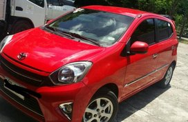 Sell Red 2016 Toyota Wigo in Mandaluyong