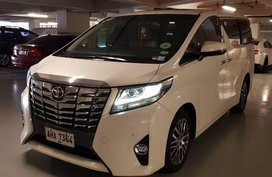 2nd Hand Toyota Alphard 2015 for sale in Pasig