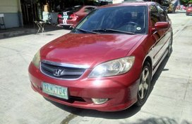 Honda Civic 2004 Automatic Gasoline for sale in Quezon City