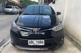 Sell Black 2015 Toyota Vios in Quezon City