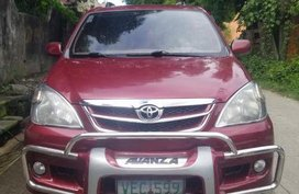 Selling Toyota Avanza 2008 at 110000 km in Quezon City