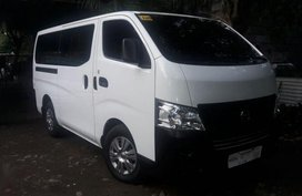 Sell White 2016 Nissan Nv350 Urvan in Meycauayan