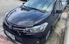 Selling Black Toyota Vios 2015 Manual Gasoline in Quezon City