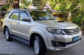Sell 2nd Hand 2014 Toyota Fortuner Automatic Diesel at 45000 km in Mexico
