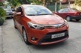 Selling Orange 2016 Toyota Vios Automatic