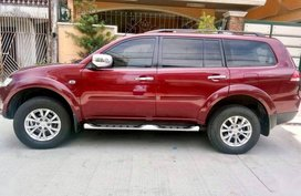 Sell Red 2014 Mitsubishi Montero Sport SUV in Quezon City