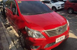 Sell Red 2016 Toyota Innova in Quezon City
