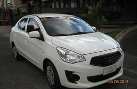 Sell 2nd Hand 2014 Mitsubishi Mirage G4 Automatic Gasoline at 99000 km in Manila