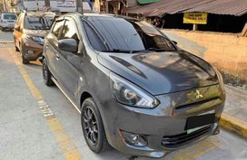 Mitsubishi Mirage 2013 Hatchback Automatic Gasoline for sale in Makati