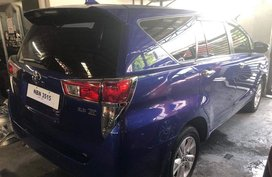 Blue Toyota Innova 2017 at 20000 km for sale