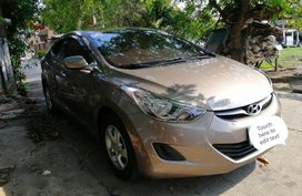 Selling Hyundai Elantra 2012 Automatic Gasoline in Paombong