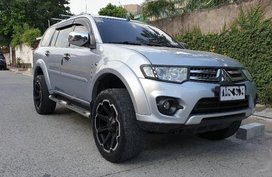 Sell 2nd Hand 2014 Mitsubishi Montero Sport Automatic Diesel at 60000 km in Quezon City